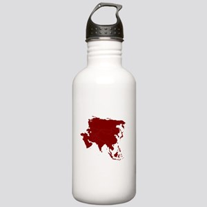 Continent of Asia Water Bottle