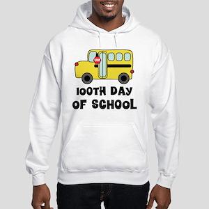 100th Day of School Hooded Sweatshirt