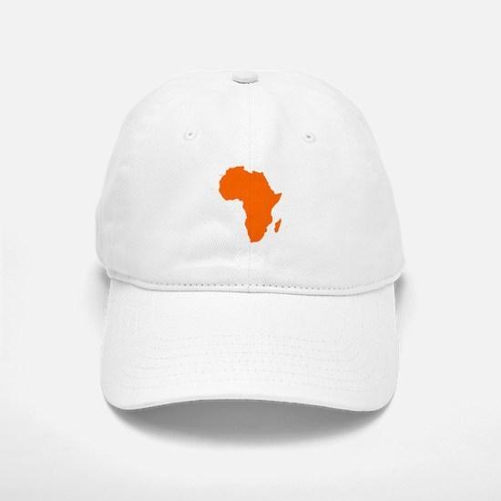 Continent of Africa Baseball Baseball Baseball Cap