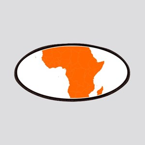 Continent of Africa Patches