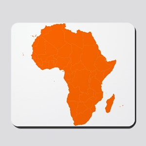 Continent of Africa Mousepad