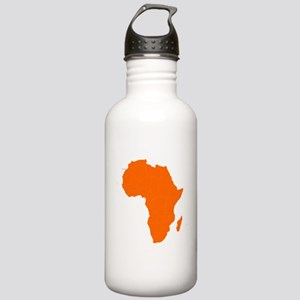 Continent of Africa Water Bottle