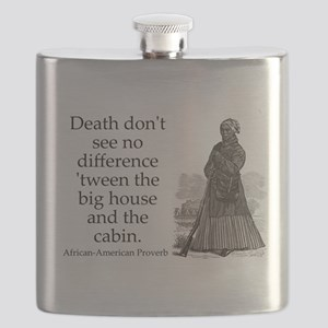 Death Dont See No Difference Flask