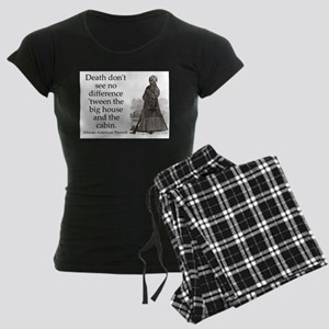Death Dont See No Difference Women's Dark Pajamas