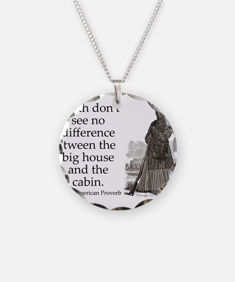 Death Dont See No Difference Necklace