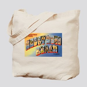 Hollywood Beach Florida Greetings Tote Bag