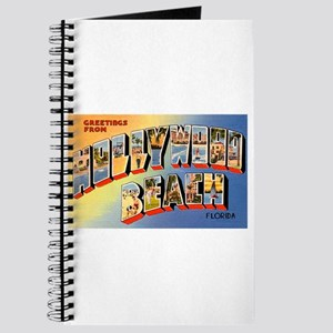 Hollywood Beach Florida Greetings Journal