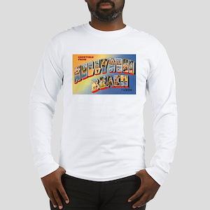 Hollywood Beach Florida (Front) Long Sleeve T-Shir