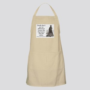Death Dont See No Difference Light Apron