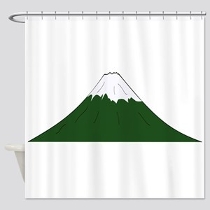 Dormant Volcano Shower Curtain