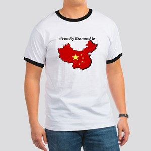Proudly Banned in China Ringer T