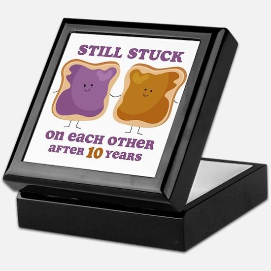 PBJ 10th Anniversary Keepsake Box