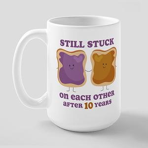 PBJ 10th Anniversary Large Mug