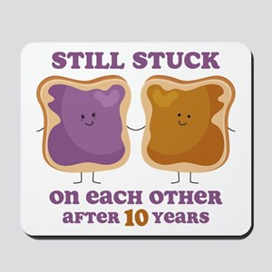 PBJ 10th Anniversary Mousepad