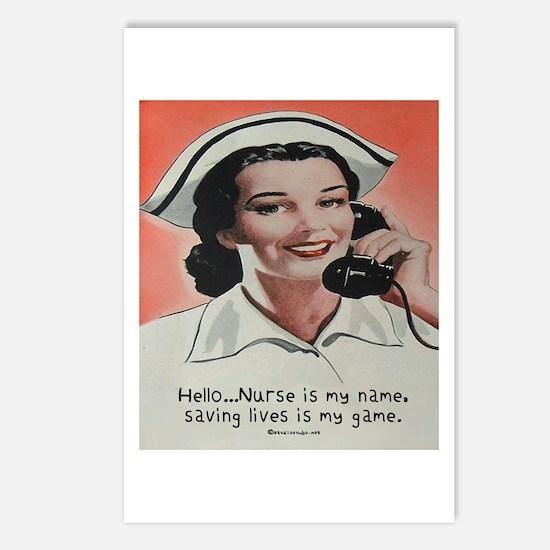 Nurse is my Name Postcards (Package of 8)