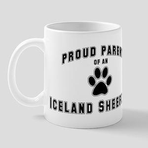 Iceland Sheepdog: Proud paren Mug