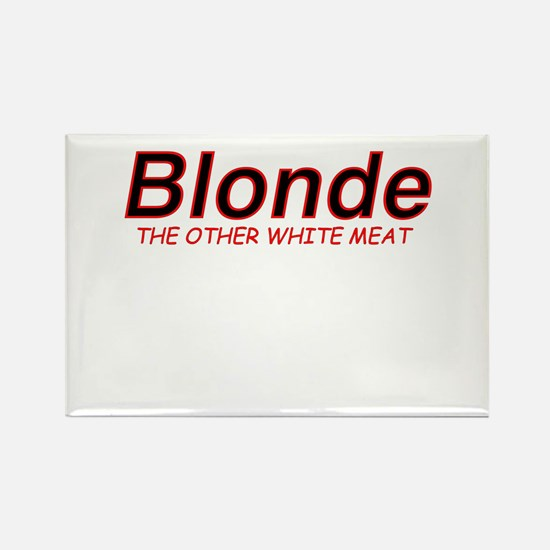 Blonde Other White Meat Rectangle Magnet