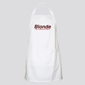 Blonde Other White Meat BBQ Apron