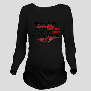Way of Life Long Sleeve Maternity T-Shirt