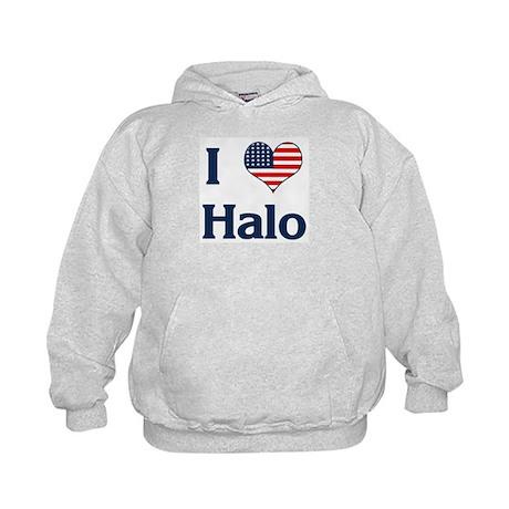 I Love Halo Kids Hoodie