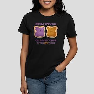 PBJ 25th Anniversary Women's Dark T-Shirt