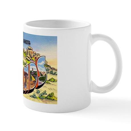 Badlands North Dakota Greetings Mug