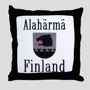 The Alahärmä Throw Pillow