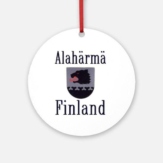 The Alahärmä Ornament (Round)