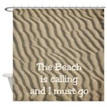 Beach Sand Shower Curtain
