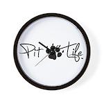 Pit Life - Wall Clock