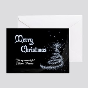 Christmas card for foster parents Greeting Cards
