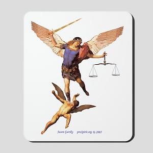 Saint Michael -1- Mousepad