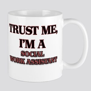 Trust Me, I'm a Social Work Assistant Mugs