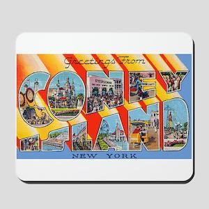Coney Island New York Mousepad