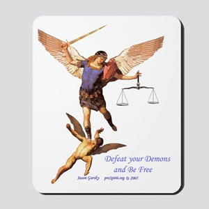 Archangel Michael -1- Mousepad