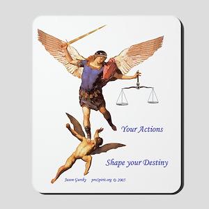 Archangel Michael -3- Mousepad