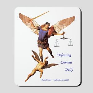 Archangel Michael -5- Mousepad