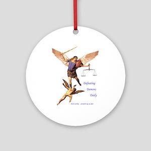 Archangel Michael - Ornament (Round)