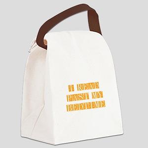 I-read-bedtime-FLE-ORANGE Canvas Lunch Bag