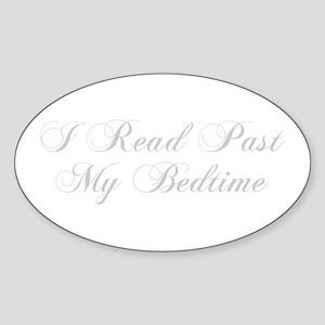 I-read-bedtime-cho-light-gray Sticker