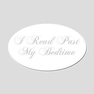 I-read-bedtime-cho-light-gray Wall Decal