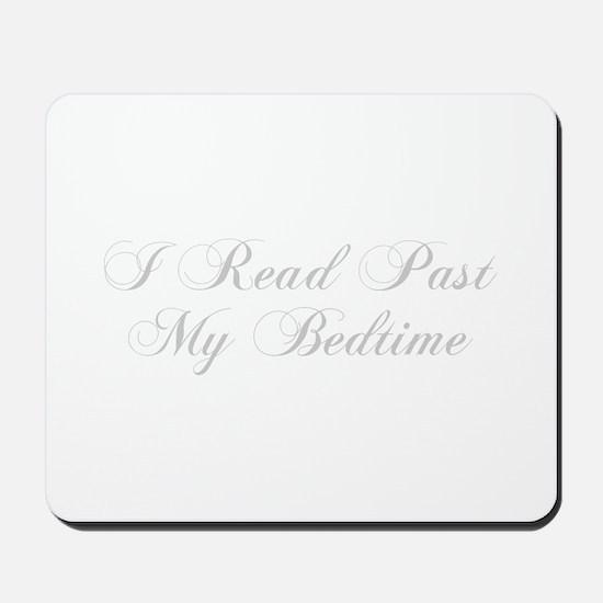 I-read-bedtime-cho-light-gray Mousepad