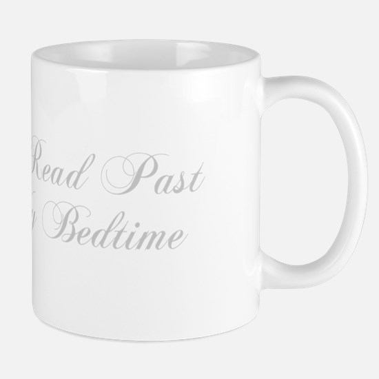 I-read-bedtime-cho-light-gray Mugs
