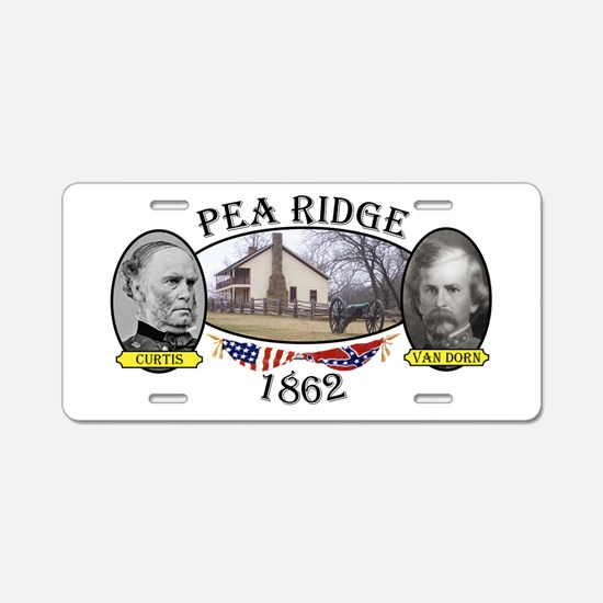 Pea Ridge Aluminum License Plate