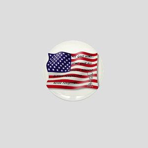 Never Forgotten Hero Flag Mini Button