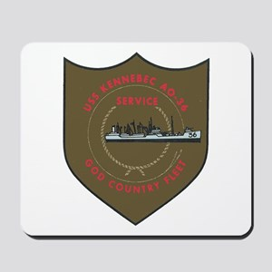 USS KENNEBEC Mousepad