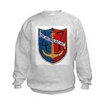USS NECHES Kids Sweatshirt