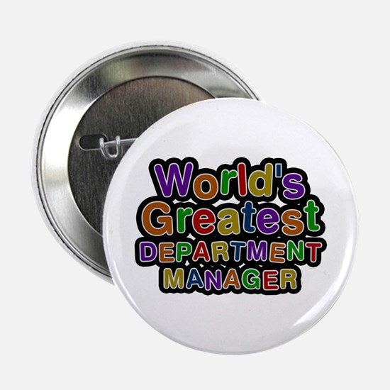 World's Greatest DEPARTMENT MANAGER Button