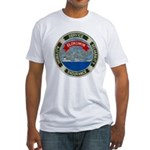 USS ELOKOMIN Fitted T-Shirt