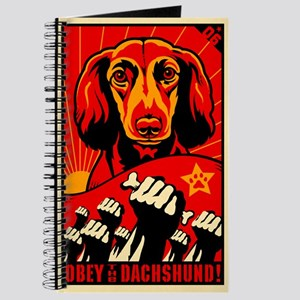 Long Haired Dachshund! Propaganda Journal